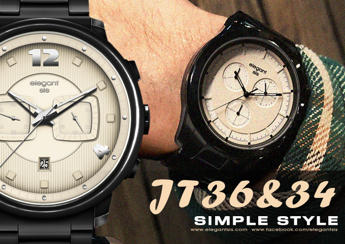 JT36、JT34 - 簡約色調時尚風