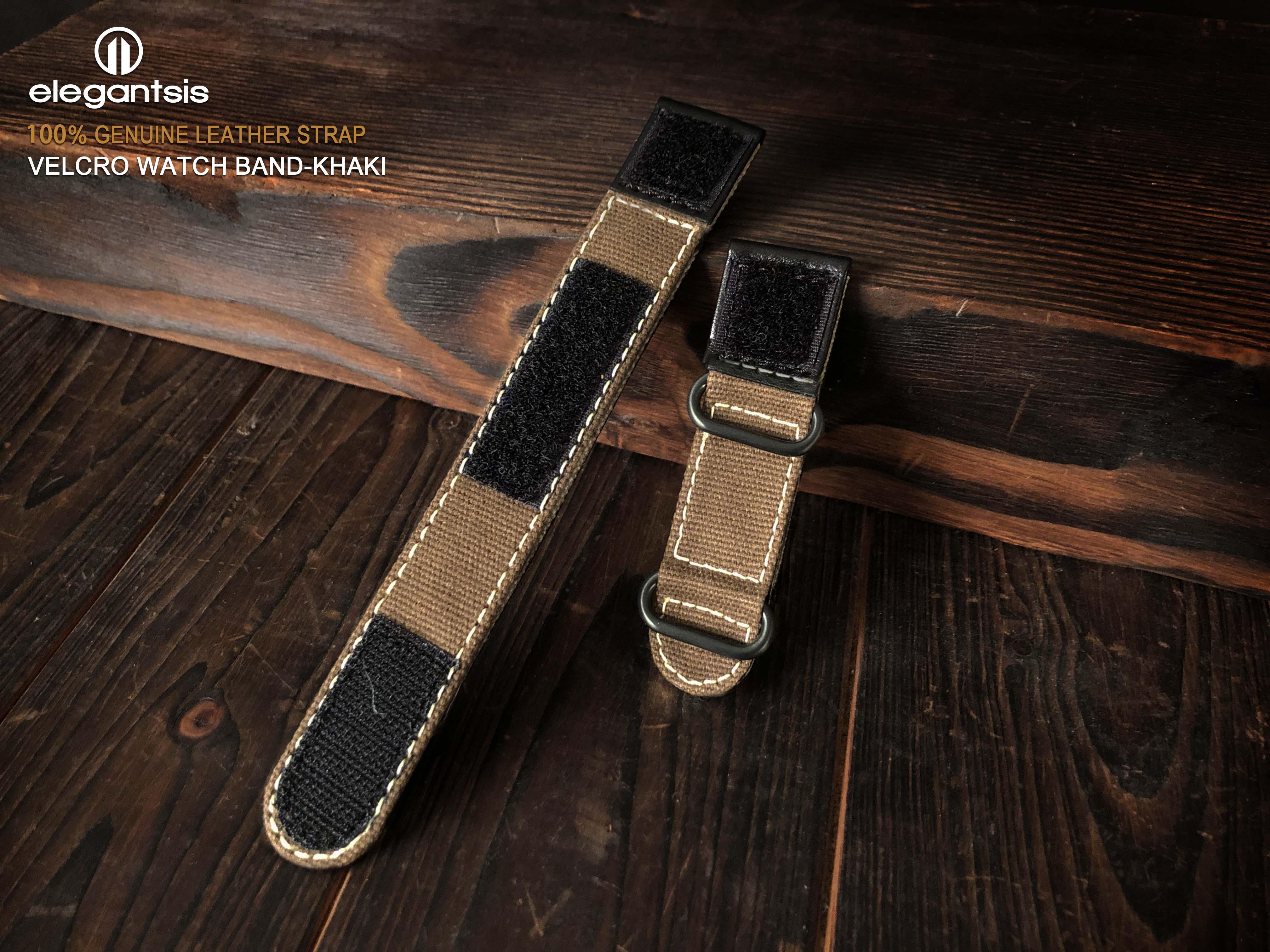 錶帶寬:24mm 淺卡其色
