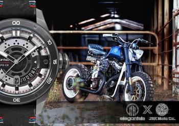 敬時間打磨後依舊蠢動的飄風靈魂 - elegantsis x JSK moto JX65AS