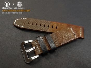 JX65AS JSK 100%頂級小牛皮錶帶