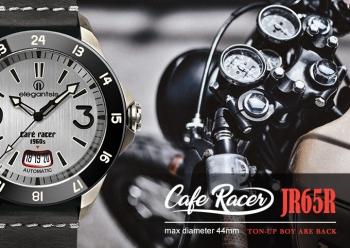 CafeRacer風格主題自動機械腕錶-運動版