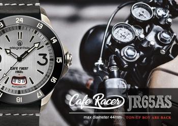 CafeRacer風格主題自動機械腕錶