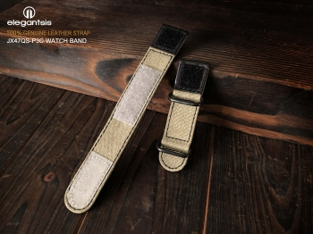 Velcro Canvas Leather Strap 魔鬼氈帆布皮錶帶
