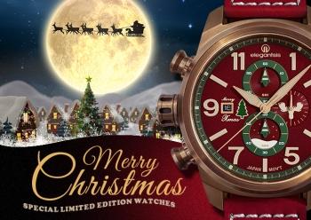 聖誕特別限定聖誕腕錶