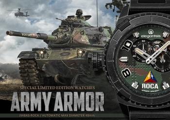 ROCA限量機械腕錶-限量300組