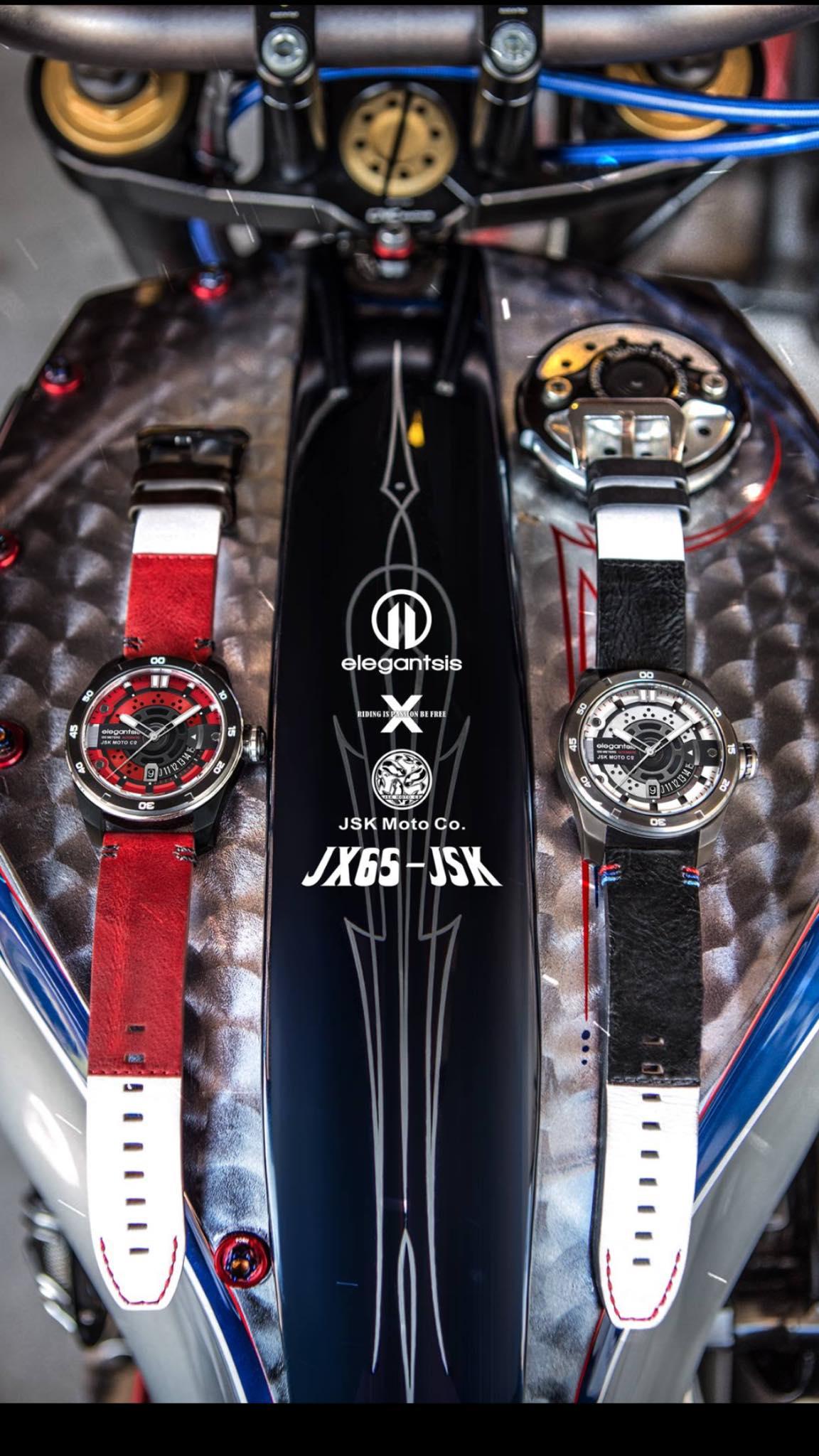 這次,我們把重機與名錶,每個男人對速度與精密機械的熱愛,一次獻給各位