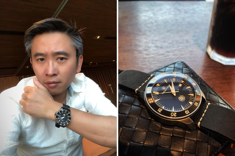 愛樂時-兒福聯盟龍團-限量腕錶