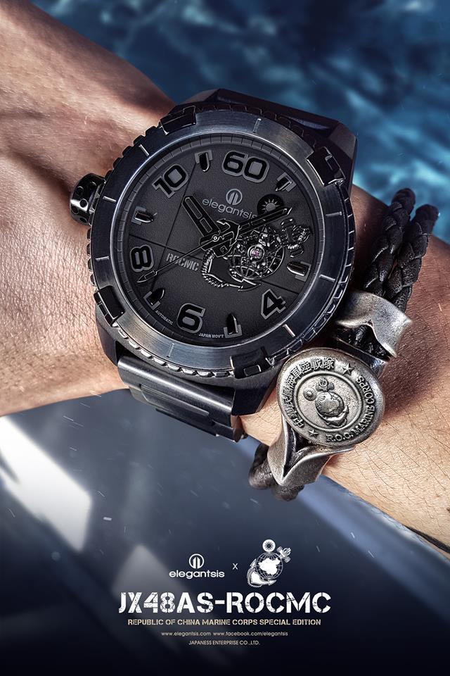 海軍陸戰隊限量腕錶蓋大樓活動,秀出你的海軍陸戰魂!