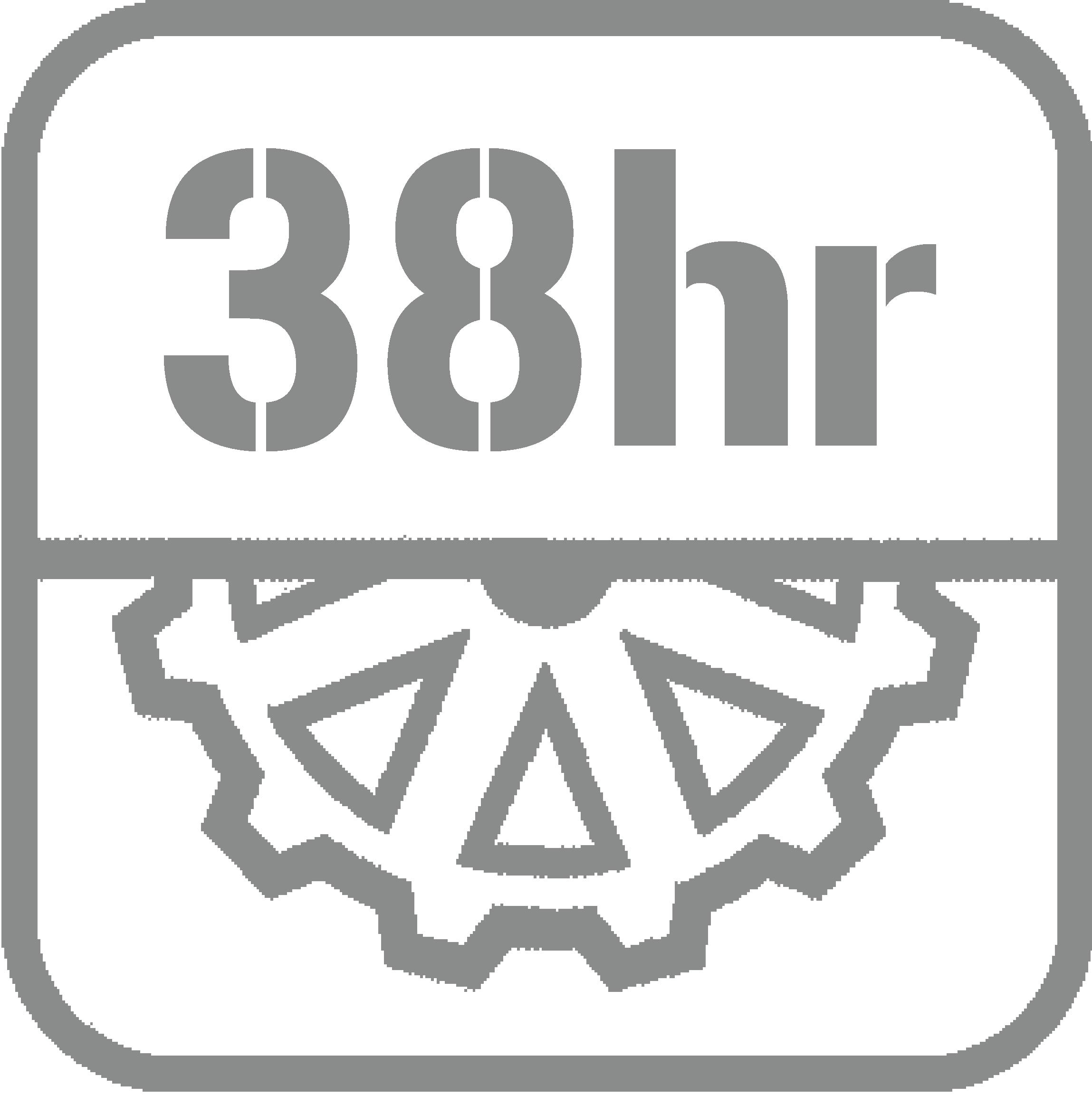 動力儲存38小時